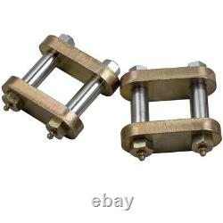 Greasable Shackle Spring Bolt Link Kit for Heavy Duty Tandem Axle Truck Trailer