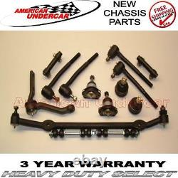 HD Ball Joint Tie Rod Center Link Kit for Chevy Malibu Regal Monte Carlo 78 87