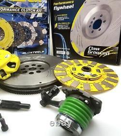 HEAVY DUTY CUSHION clutch kit inc GROOVED FLYWHEEL COMMODORE VT VX VY VZ LS1 V8