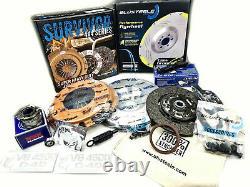 HEAVY DUTY SURVIVOR clutch kit & FLYWHEEL for LANDCRUISER 79 SERIES VDJ79 1VDFTV