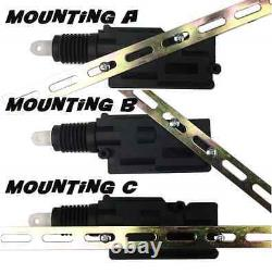 Heavy Duty 2 Door Central Power Locking Kit + Keyless Entry