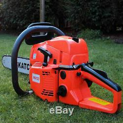 Heavy Duty 20 52cc Chainsaw Wood Cutting Saw Cutter Two Stroke Petrol Engine UK