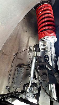 Heavy Duty Front Adjustable Sway Bar End Links For BMW E46 + M3