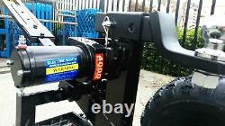 Heavy Duty Motorised CARAVAN TRAILER BOAT Mover 4000LB WINCH FRAME COMPLETE KIT