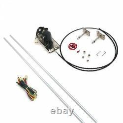 Heavy Duty Power Windshield Wiper Kit WIPER2 truck rat street custom