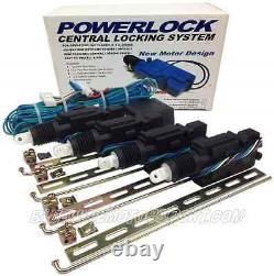 Heavy Duty Powerlock 4 Door Central Power Locking Kit