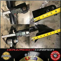 Heavy Duty Triangulated 4 Link Hot Rod Suspension Kit 2600 Air Bags & Rear Mount
