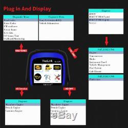 Heavy Duty Truck Diesel Diagnostic Tool OBD2 Car Scanner Engine DPF Oil Reset US