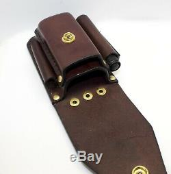 Heavy duty leather case sheath pouch FOR leatherman multitools bit kits torch