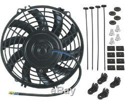High Performance Transmission Oil Cooler Electric Fan Kit Heavy Duty Car Truck