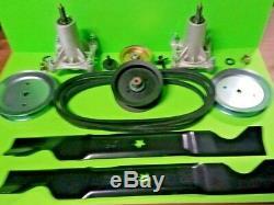 Husqvarna 46 High Lift Blade Deck Rebuild Kit YTH2246 genuine blade belt Oem