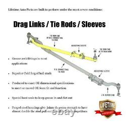LIFETIME Rebuild Kit Ball Joint Tie Rod for Chevrolet GMC K1500 4x4 1999 2008