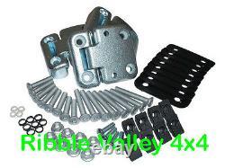Land Rover Defender Front Heavy Duty Door Hinge Kit For Two Front Doors Da1070