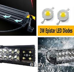 Lower Grille Mount 20 LED Light Bar Kit withBrackets, Relay For 19-up Ford Ranger