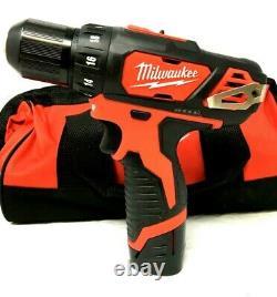 MILWAUKEE 2494-22 Drill + Impact 2 Driver Combo Kit M12 12V Lithium-Ion L40