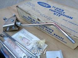 NOS FENTON FLOOR SHIFT CONVERSION KIT Original Vintage Accessory 56-62 Ford Merc