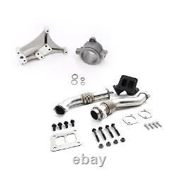 Non-EBP Turbo Pedestal Housing Bellowed Up Pipes For 94-97 Ford 7.3L Powerstroke