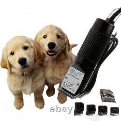 Professional Pet Electric Clipper Grooming Kit Heavy Duty Pet dog Animal Hair