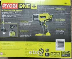 RYOBI P261K Cordless Impact Wrench 3 Speed 1/2 18V Kit with Battery & Charger New