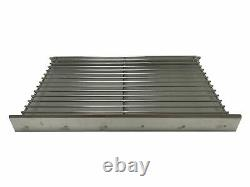Replacement DIY Brick BBQ Heavy Duty Charcoal Grate & Ash Tray Kit Aluminized