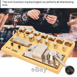 Ring Bending Tool Set Jewelry Heavy Duty Rings Bender Jewellery Making Tools Kit