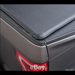 Roll-Up Soft Tonneau Cover For 95-04 Toyota Tacoma 89-94 Pickup Truck 6 Ft Bed