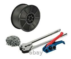 Safeguard Heavy Duty Pallet Strapping Banding Kit 1