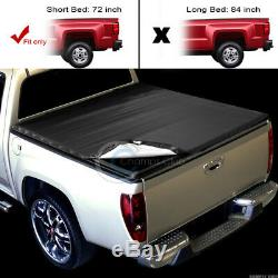 Snap-On Tonneau Cover 82+ Chevy S10/GMC S15 Sonoma Fleetside 6 Ft 72 Short Bed