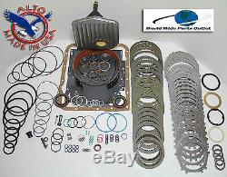 TH700R4 4L60 Rebuild Kit Heavy Duty HEG Master Kit Stage 4 1987-1993