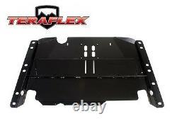 TeraFlex Belly Up Skid Plate Kit Black For 97-06 Jeep Wrangler TJ LJ 4648403