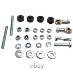 Tubular Heavy Duty Control Arm for Chevy 64-72 + Trailing Arm Brace Kit for GM