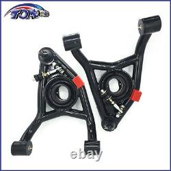 Upper & Lower Tubular Control Arms For 68-72 Chevelle Monte Carlo Gto Heavy Duty
