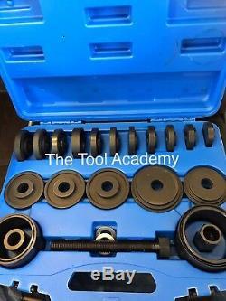 Wheel Bearing Removal Tool Kit 22 Pce Heavy Duty Steel + Lifetime Warranty