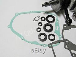 Yamaha Blaster Heavy Duty WISECO Crank Crankshaft Rod Seals Complete Gaskets Kit