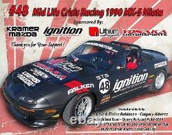 Yonaka Mazda Miata 89-98 NA Coilovers HEAVY DUTY TRACK CIRCUIT RACE ONLY