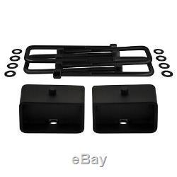 07-18 Chevrolet Silverado 1500 Blk 3.5 + 3 Lift Kit Complet Avec Diff Goutte Pro