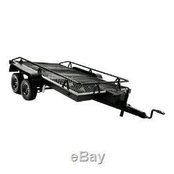 1/10 Échelle Rc Heavy Duty Truck Kit Remorque Pour Axial Scx10 D90 D110 Tf2 Trx4