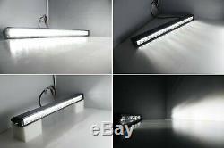 100w 20 Led Light Bar Avec Pare-chocs Inférieur Support / Fils Pour Silverado 1500 2500 3500