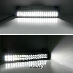 120w 20 Led Light Bar Avec Pare-chocs Bas Support Câblage Pour 2011-16 Ford F250 F350