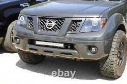 120w 20 Led Light Bar Withlower Pare-chocs Support, Câblages Pour 04-18 Nissan Frontier