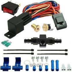 15 Ligne 6an Moteur Transmission Refroidisseur D'huile Ventilateur-flexible Thermostat Heavy Duty Kit
