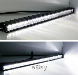 150w 30 Led Light Bar Avec Caché Derrière Grill Mounts, Câblage Pour 17+ Ford Raptor