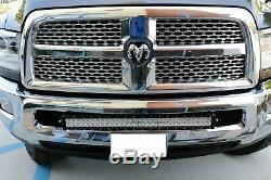 180w 30 Led Light Bar Avec Pare-chocs Support, Câblages Pour 03-18 Dodge Ram 2500 3500