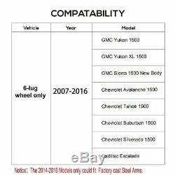 2-4 '' Bras De Commande Kits De Réhausse Pour Chevy Silverado Gm 1500 07-15 Tubulaire