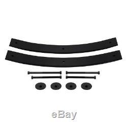 2 Avant + 2 Arrière Add-a-feuillages Pour Les 81-96 Ford F150 Lift Kit + 3/4 Stud Ext. 2rm