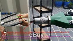 20 Rivet Heavy Duty Écrou Nutsert Insert Tool Kit M5 M6 M8 M10 M12 Mandrin
