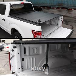 2004-2014 Ford F-150 5.5ft Tonneau Couverture Imperméable À L'eau En Aluminium Dur