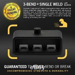 2011-2020 Sierra Silverado Hd 3 F + R 2 + Lift Kit Chocs Extendeurs + Outil 4wd