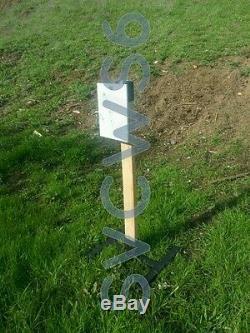 2x4 / 1x2 Combo Robuste Stand Target Avec Suspente Kit Pour L'acier Ou Des Cibles Papier