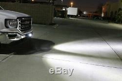 40w Cree Led Avec Plaque D'immatriculation Pods Support, Câblages Pour Camion Jeep Vtt 4 Roues Motrices 4x4